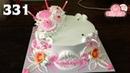 Chocolate cake decorating buttercream 331 Cách Làm Bánh Kem Đơn Giản Đẹp - Hồng Nhẹ 331