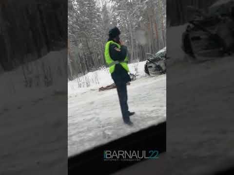 Авария на новосибирской трассе (Barnaul22)