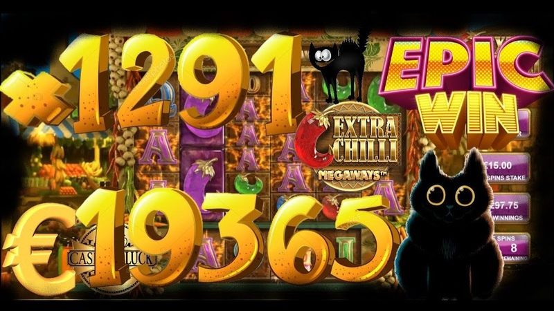 Extra Chilli (BTG) x1291 EPIC WIN €19 365 (ONLINE CASINO)