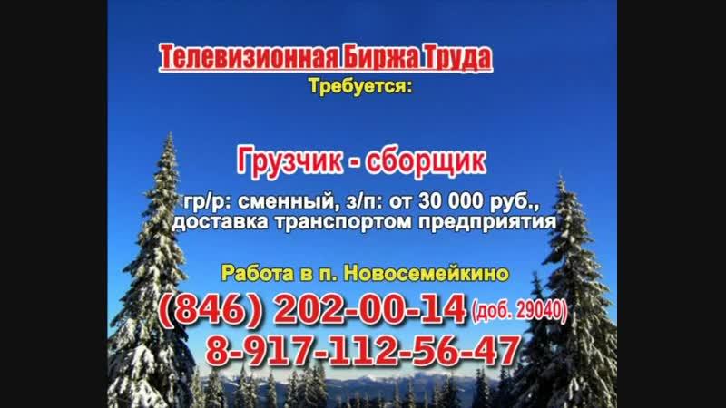16 января _07.20_12.50_Работа в Тольятти_Телевизионная Биржа Труда