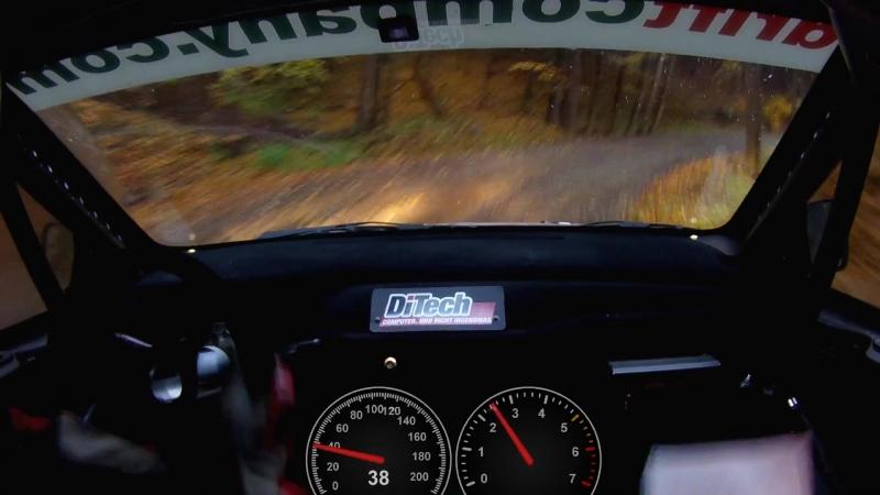 206 kmh Evo 9 R4 durch den Wald - Beppo Harrach bei der Waldviertel Rallye