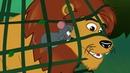 Лев и мышь сказка для детей, анимация и мультик