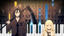 Angels of Death ED Pray Piano Tutorial Satsuriku no Tenshi