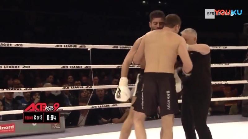 亚历山大·斯特库伦科Alexander Stetsurenko vs Cyril Benzaquen (ACB KB 9)_超清