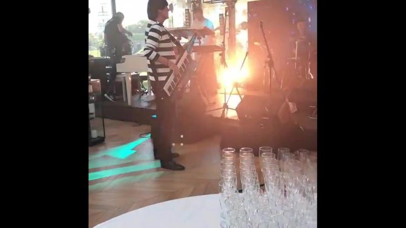 Didier Marouani. Magic Fly. Restaurant Guramma Italiana. Kiev. Ukraine. September 30th, 2018.