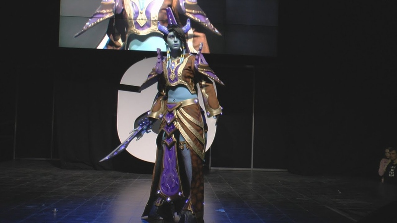 Cosplay Tamuura (Draenei mage) - World of warcraft /Starcon 2018/