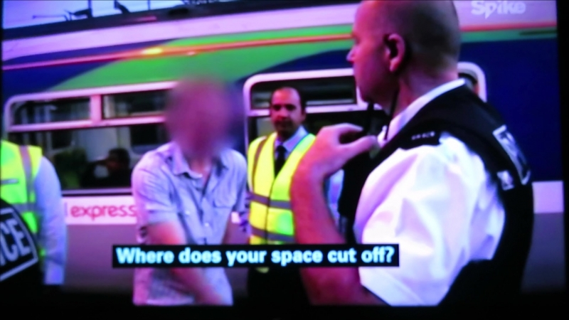 Drunken Irate Teenagers at Colchester Train Station