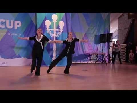 Nord Cup 2015 Шоу преподавателей Михаил Ирина Кудрявцевы