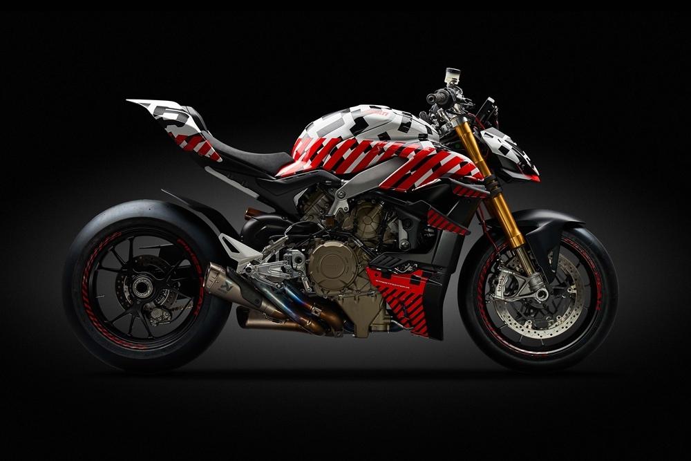 Прототип Ducati Streetfighter V4