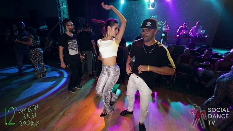 Fadi Fusion Mileni - Salsa Social Dancing   Balkan Salsa Congress 2018