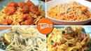 Creamy Spaghetti 7 Ways Easy Pasta Dinners Best Pasta Dishes Twisted