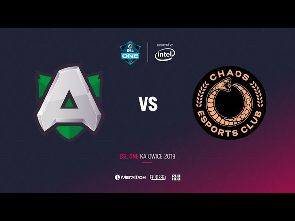 Alliance vs Chaos Esports Club1 , ESL One Katowice 2019, bo2, game 1, [Lum1Sit]