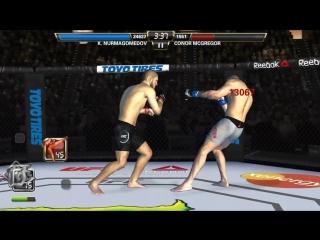 UFC MOBILE KHABIB NURMAGOMEDOV VS CONOR MCGREGOR