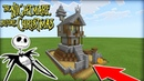 Minecraft Tutorial: How To Make Jack Skellings House The Nightmare Before Christmas