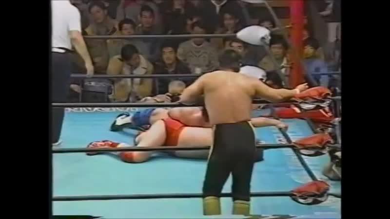 1995.01.29 - Toshiaki Kawada/Akira Taue vs Dan Kroffat/Doug Furnas