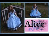 How To Make Alice's Blue Dress Costume Alice in WonderlandAlice Through The Looking Glass