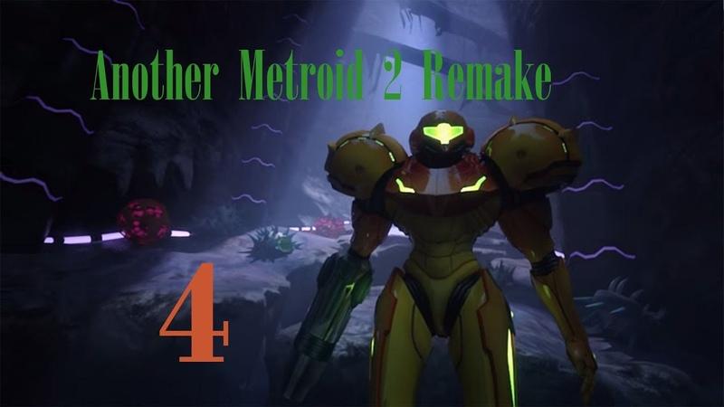 Another Metroid 2 Remake Project AM2R 4 Опасный Торизо и новые плюхи прохождение на русском