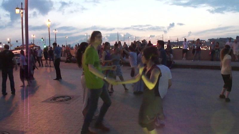Танцы на Стрелке В.О. Хрустальный дракон. 21 июля 2018. Часть 4