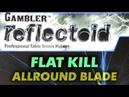 Test flat hit GAMBLER Reflectoid 2.0 mm