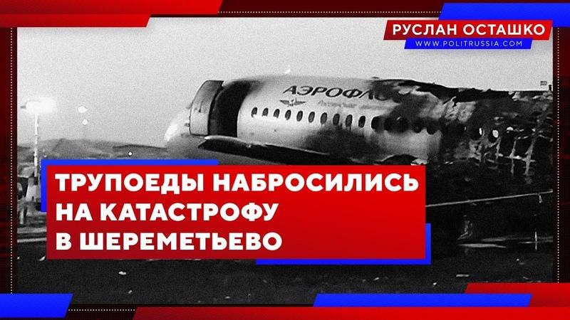 Трупоеды набросились на катастрофу в Шереметьево (Руслан Осташко)