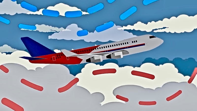 Don't Worry About Airplane Turbulence Great Animation Explains It