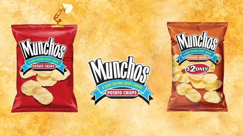 1321-Munchos Potato Chips Spoof Pixar Lamps Luxo Jr Logo