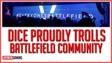 DICE Celebrates Failed BFV Launch By Demonising Gamers...Again.