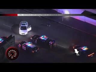 Flex police chase