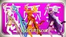 【MMD】[A]ddiction【Miku Rin Luka Haku】China dress (PV kit)[EN/中文 sub]