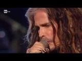 Steven Tyler &amp Andrea Bocelli performs ''Imagine'' by John Lennon