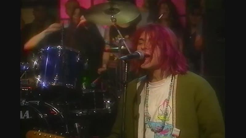 NIRVANA Drain You MTV Studios New York NY US 10 01 1992 PRO 2