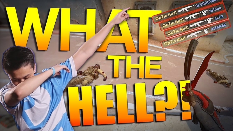 CS:GO -What the HELL?! ft. Stewie2k, Coldzera, FREAKAZOID, Niko More!