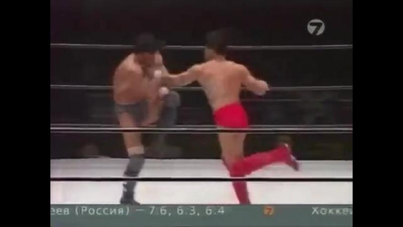 Бушидо 34 - Кийоши Тамура - Наоки Сано (2 бой)
