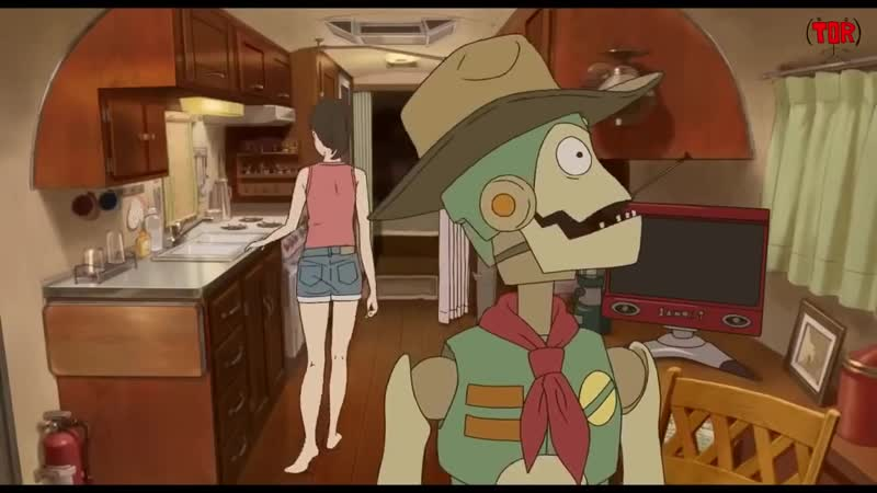 Robot on the Road - Anime Movie