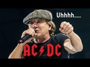Back in Black but THE BAND IS ON CRACK AC/DC