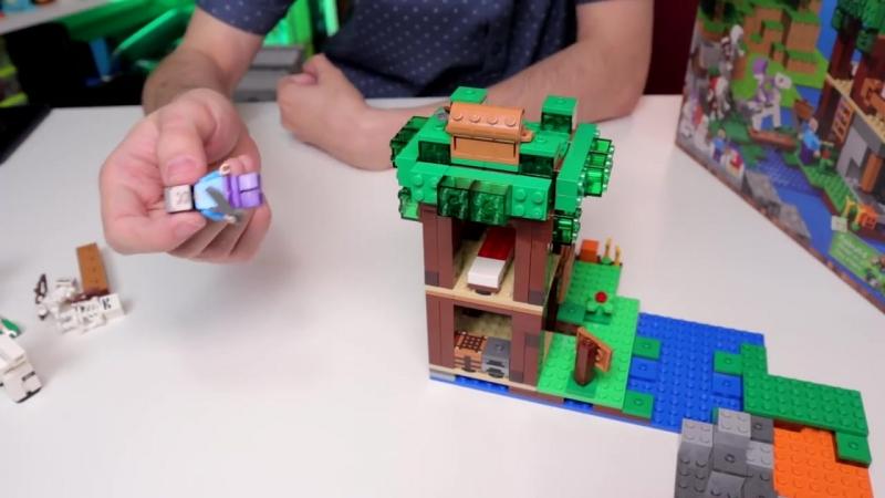 [Shiro Geek World] LEGO MINECRAFT 2018 - не покупай пока не посмотришь (2 полугодие)