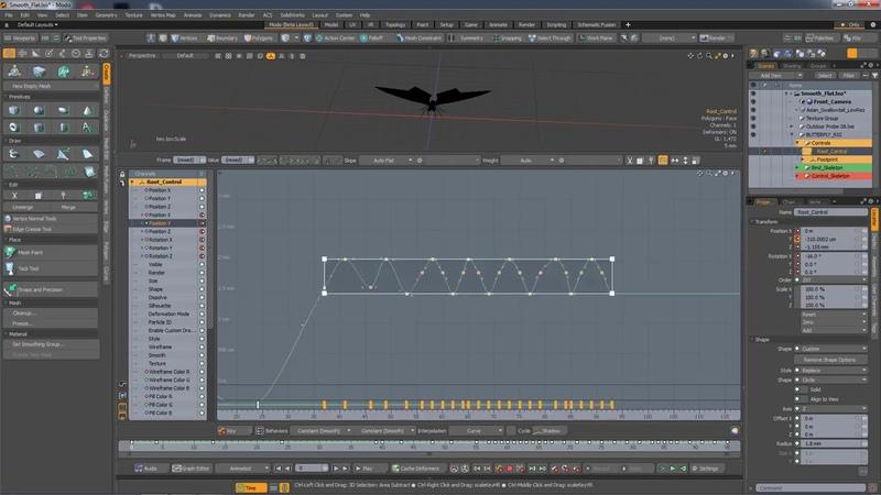 MODO 12.1 Box Scaling Tool   Animation