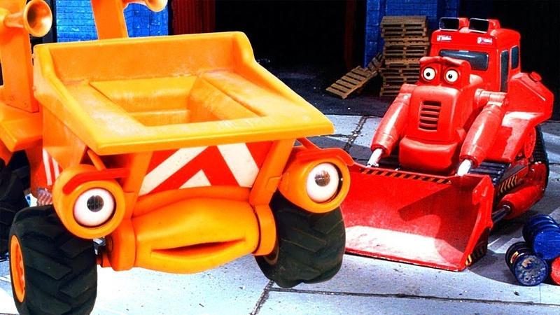 Мультфильмы про машинки на стройке. Рабочие машины помощники. Серия: Перегруз