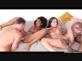 Little caprice, luna corazon (luna corazon black glamcore party)[2018, all sex, group, hd 1080p]