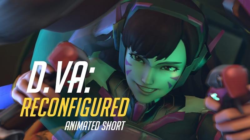 D.Va: Reconfigured [SFM - Overwatch]