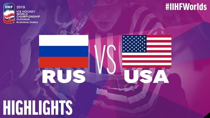 Russia vs. USA - Game Highlights