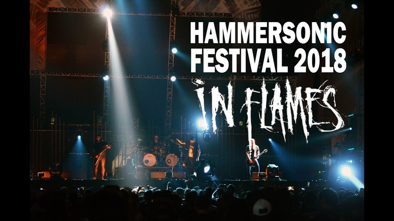 [HD] IN FLAMES (LIVE IN HAMMERSONIC 2018)