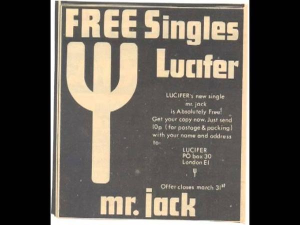 Lucifer - Mr Jack (UK psych wierdness wonder)