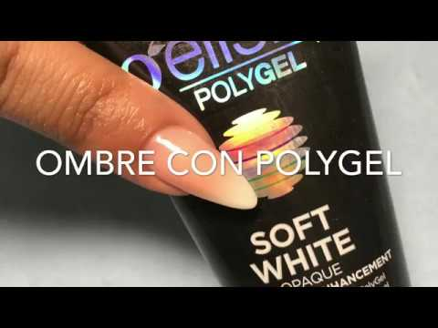 Gelish Polygel - Diseno Ombre