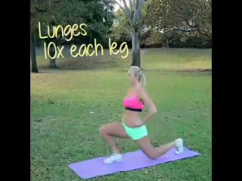Day 43 Fat burning cardio workout Fitness without equipment