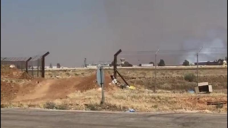 Первые кадры сирийско-иорданской границы после освобождения правительством погранпункта Насиб в провинции Даръа.