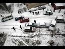 СНЕГОПАД КИЕВ 12.12.18 ТРАНСПОРТНЫЙ КОЛЛАПС SNOWFALL KIEV 12.12.18 TRAFFIC JAMS