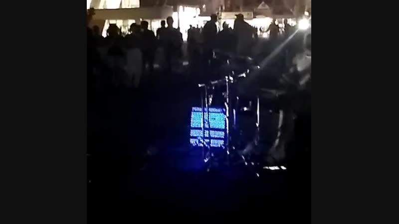 Анапа 2018 Барабанщик
