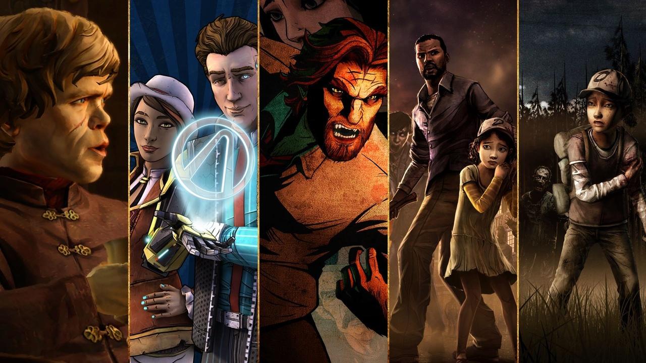 игры от студии Telltale Games