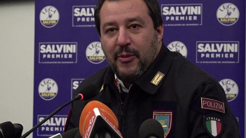 Manovra, Salvini-Ue: ''Adesso terremo d'occhio i loro conti: voteremo contro bilancio europeo''